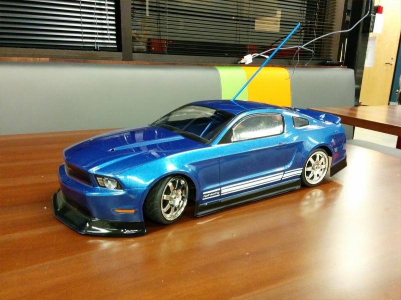 Mini RC Mustang